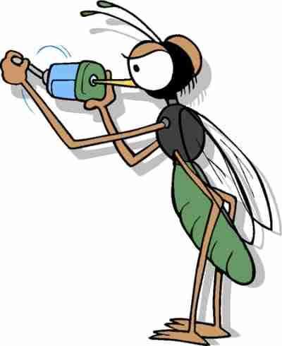 The Flying Creature from the Dark mosquito jamesjohnwrites.com resized